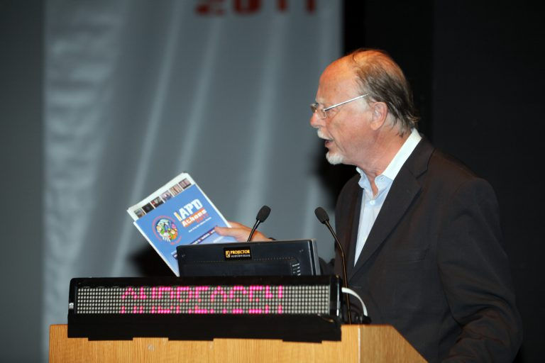 Prof Jens Andreasen lecturing at the IAPD Congress in Athens, Greece 2011