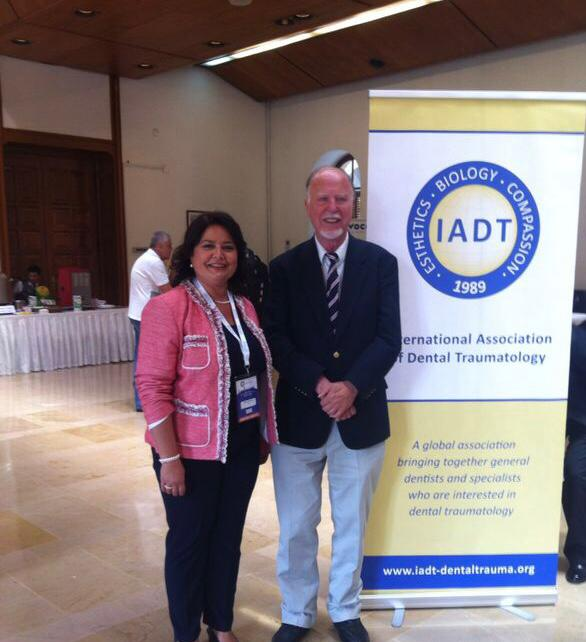 Prof Andreasen with IAPD Board Member, Figen Seymen at the IADT Congress