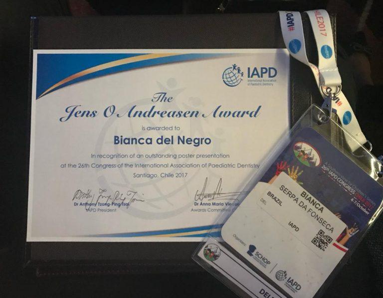 Jens Andreasen Award | Winner's Certificate, Santiago, Chile 2017
